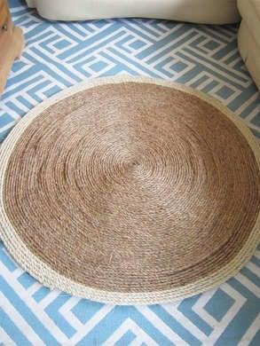 DIY Rope Rug