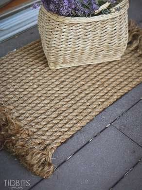 How To Make A Rope Mat