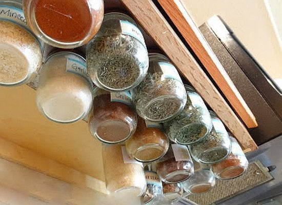 Superieur Under Cabinet Spice Rack