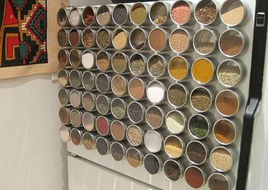 Diy Magnetic Spice Rack Diy Spice Rack 10 Cool Ideas