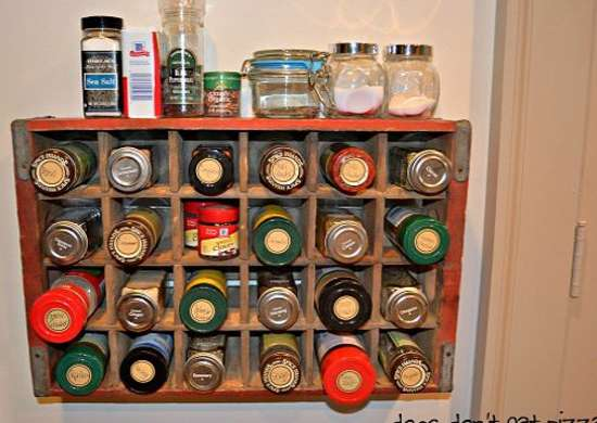 Wall Spice Rack Diy Spice Rack 10 Cool Ideas Bob Vila
