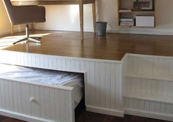 Hideaway Bed - How to Build a Bed - 9 DIY Designs - Bob Vila