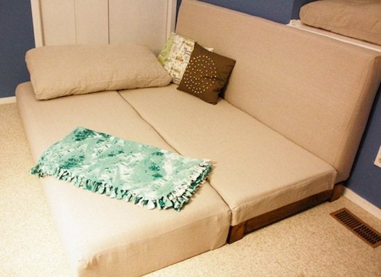 DIY Couch How To Build A Bed 9 Designs Bob Vila