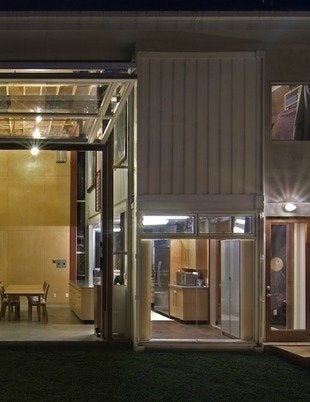 Redondo beach container house demaria bob vila rear view detail