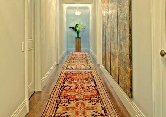 What Size Should Foyer Rug Be : Entryway rugs how to choose a rug rules bob vila