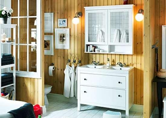 Dresser into vanity furniture arrangement borrow from for Bobs furniture bathroom vanity
