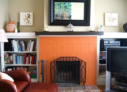 Painted Fireplace Painting Projects 9 Projects One Can Bob Vila