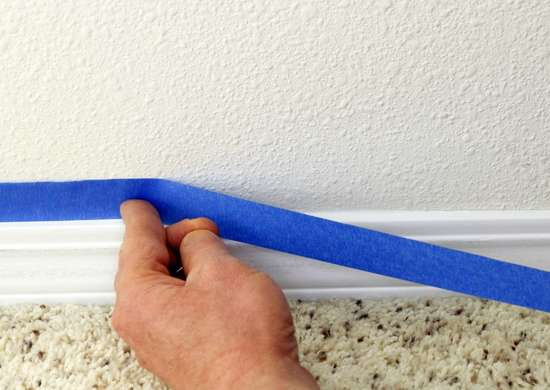 How to Use Painters Tape