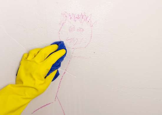 How to Remove Crayon from Wall