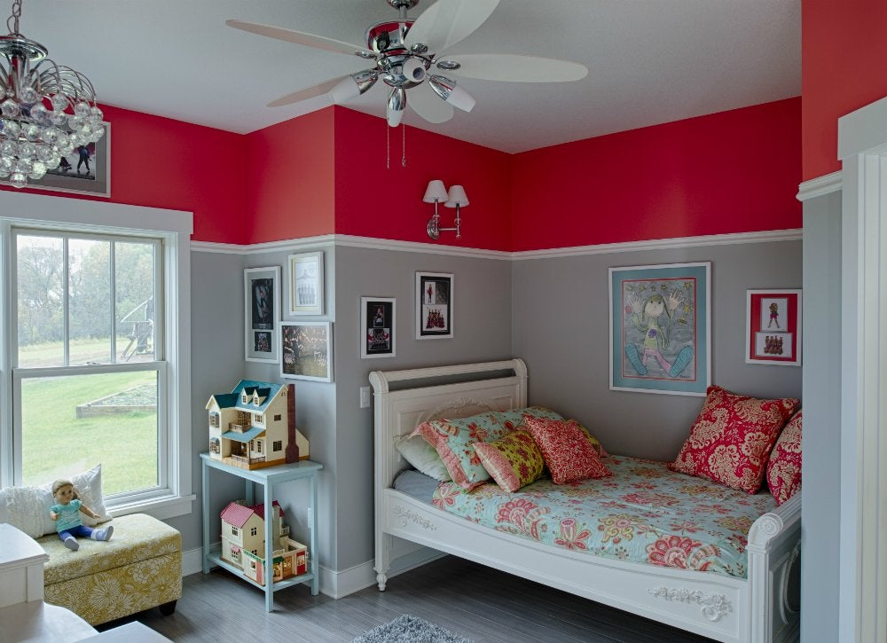 Red bedroom ideas kids room paint ideas 7 bright - Interior paint ideas for small rooms ...