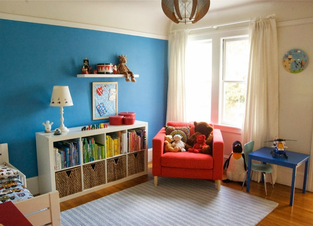Blue bedroom ideas kids room paint ideas 7 bright - Blue bedroom paint ideas ...