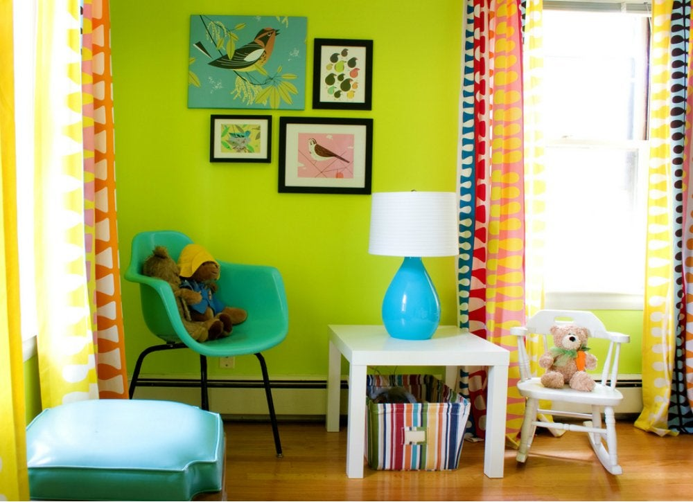 Lime green bedroom kids room paint ideas 7 bright choices bob vila - Colors for kids room ...