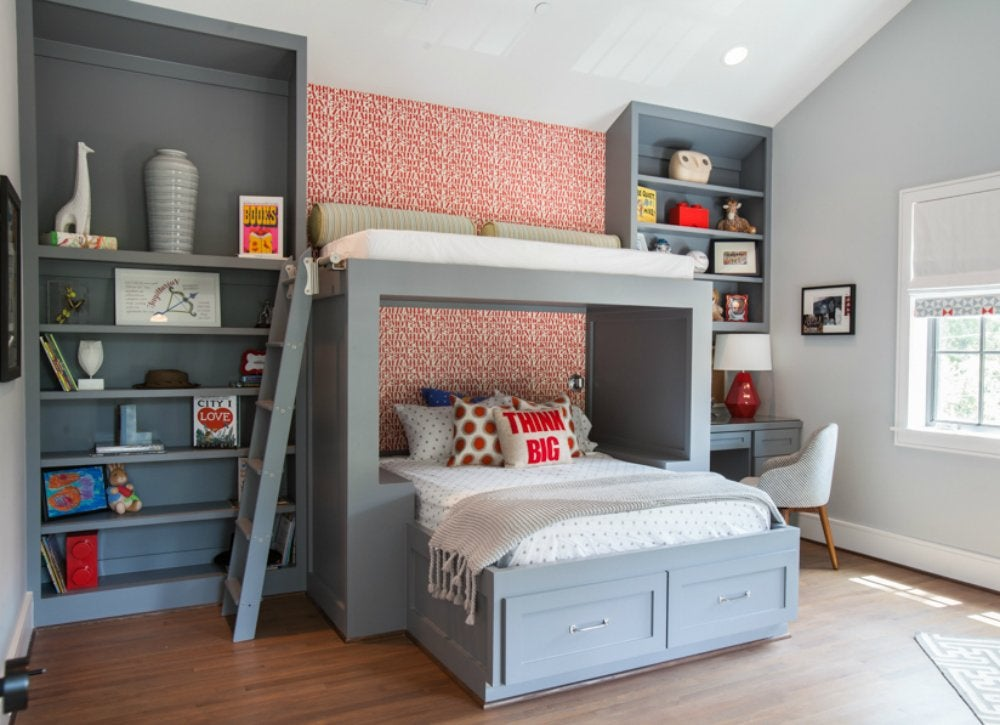 Gray bedroom ideas kids room paint ideas 7 bright for Paint colors for kids bedrooms