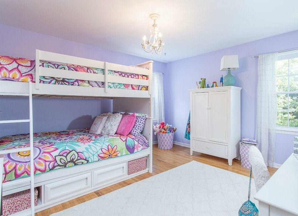 Purple Bedroom Ideas - Kids Room Paint Ideas - 7 Bright ...