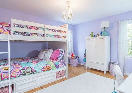 Purple bedroom ideas kids room paint ideas 7 bright - Cool room painting ideas ...