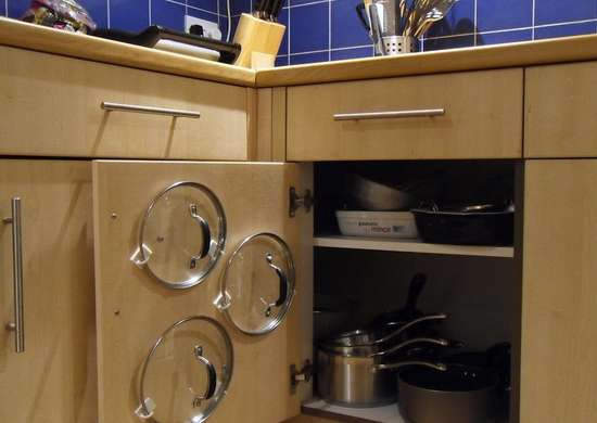 How To Store Pot Lids Kitchen Storage Ideas For Pots Pans