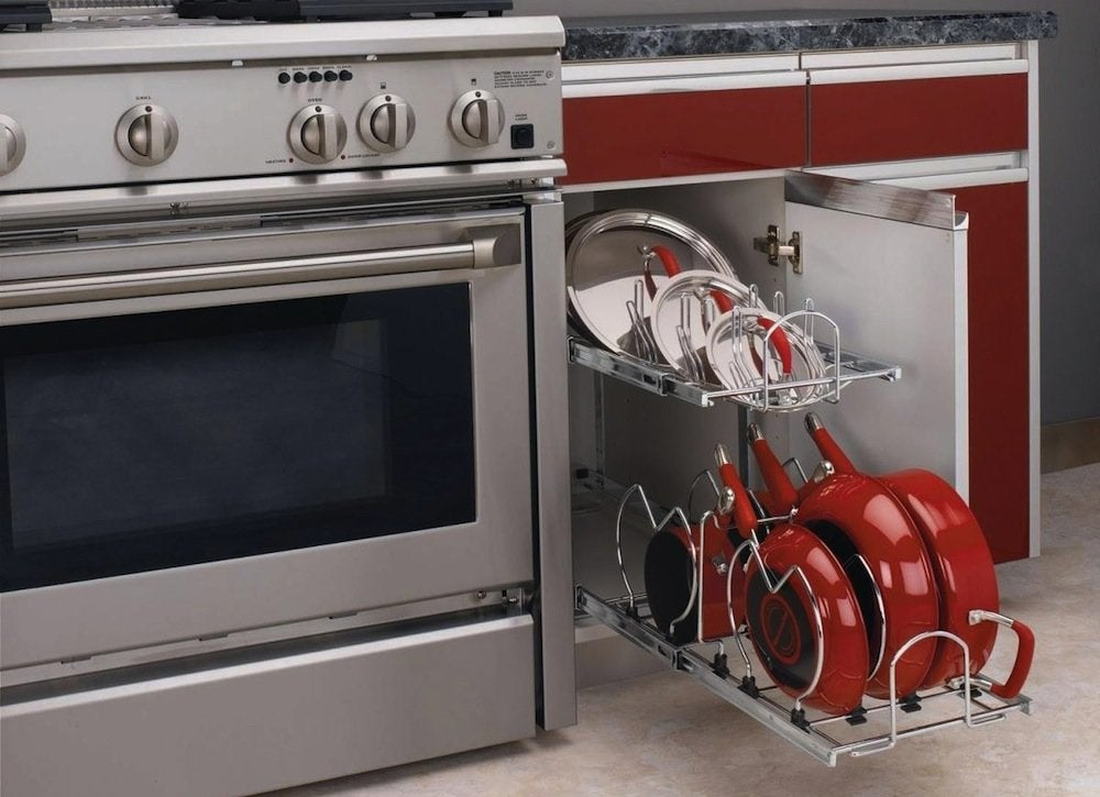 Kitchen Storage Ideas For Pots And Pans kitchen storage ideas for pots & pans - bob vila