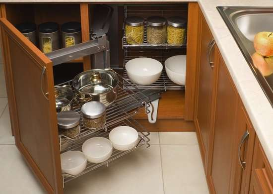 Kitchen Storage Ideas For Pots Pans