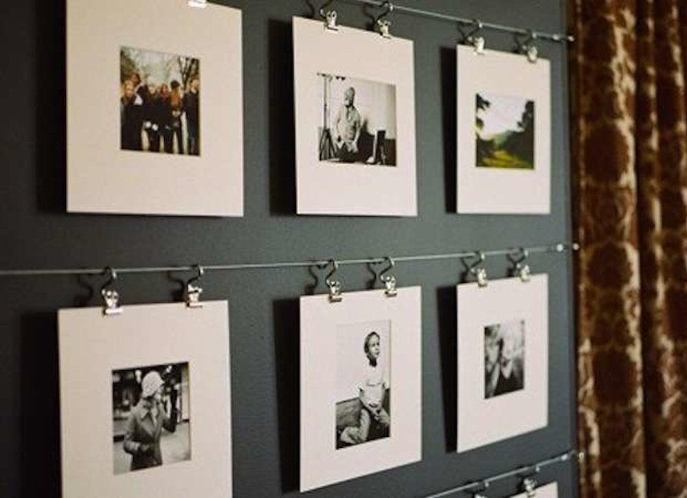 Фотографии на тросиках