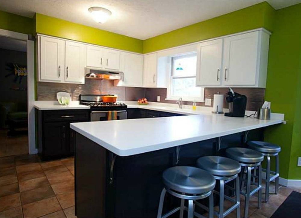 Green kitchen room painting ideas 7 crazy colors to for Crazy kitchen ideas