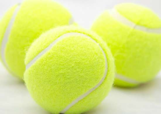 Tennis Balls in Dryer