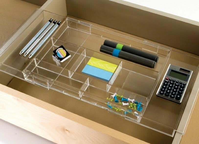 10 must haves for an organized desk under 50 bob vila - Drawer desk organizer ...