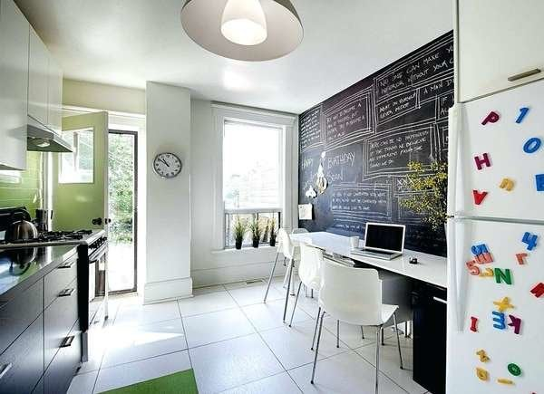 Small Home Office Ideas for Kitchens