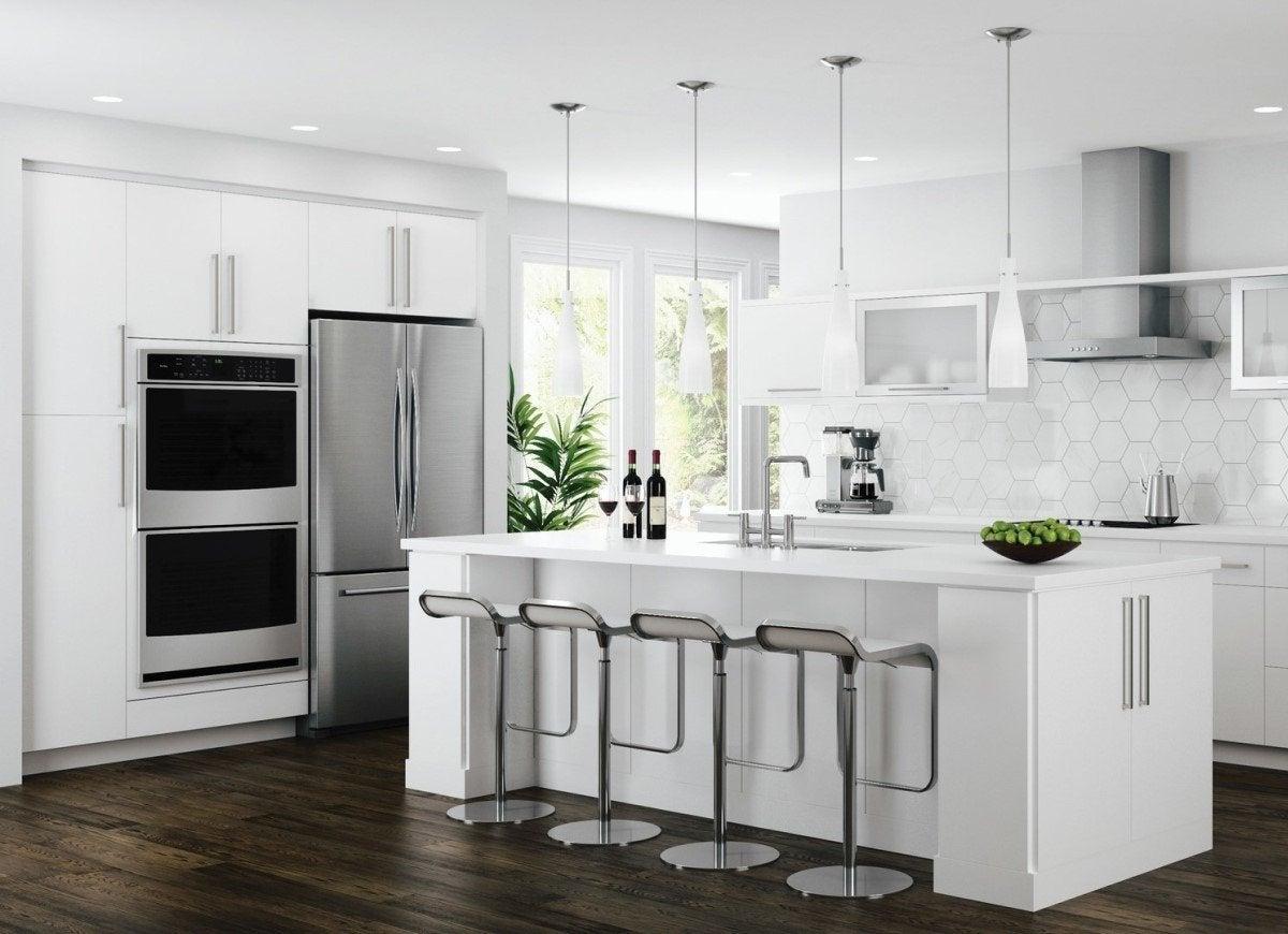 Flat Kitchen Cabinet Doors 6 Kitchen CabiStyles to Consider | Bob Vila   Bob Vila