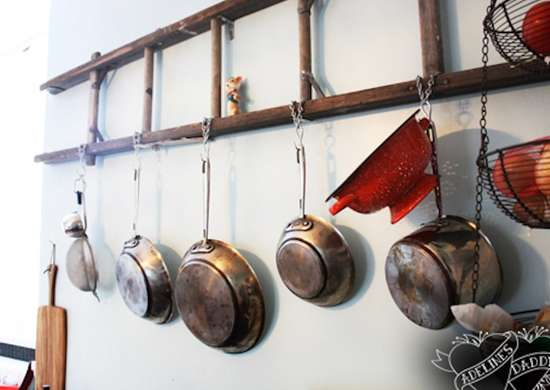 DIY Pot Rack