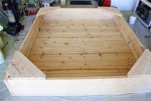 and you have a sandbox that looks like this - Sandbox Design Ideas