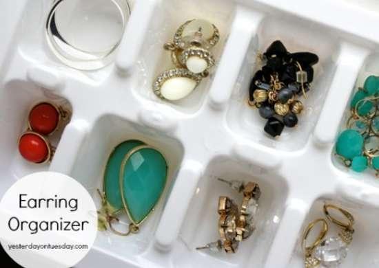Jewelry Organizer Ideas Home Organization Ideas 12 Dollar