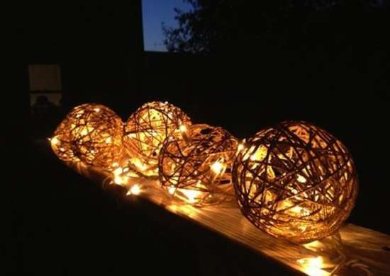Balloon String Lights Diy : DIY String Lights - Twine and String DIY Projects - 9 Things You Can Make - Bob Vila