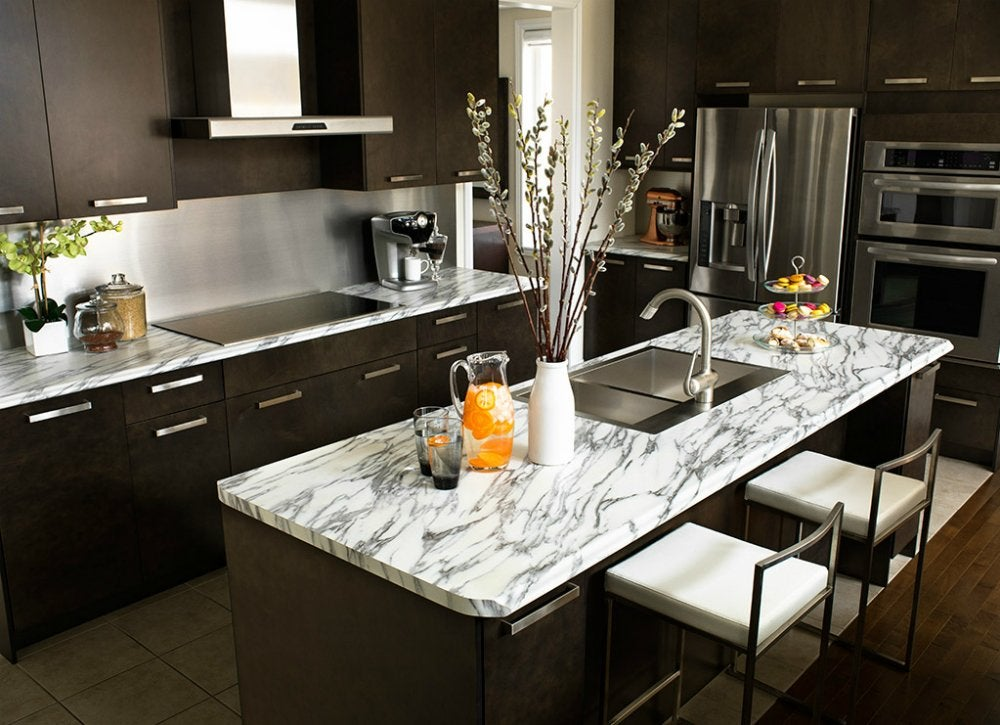 Laminate Kitchen Countertops : Laminate countertop cheap materials