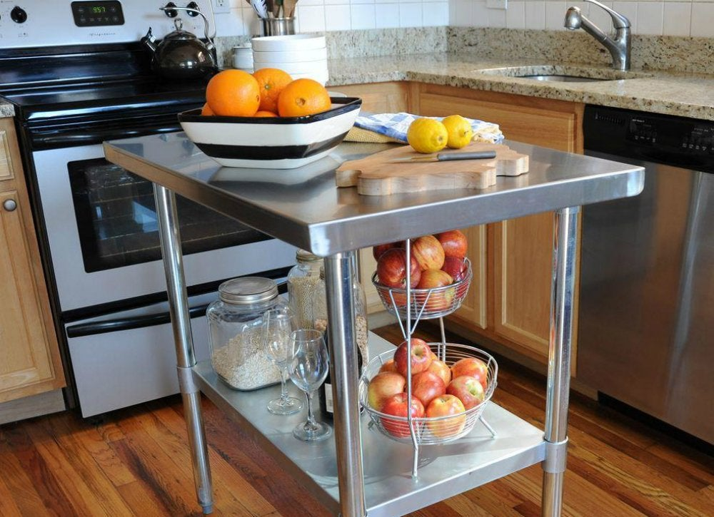 Stainless Steel Countertops - Cheap Countertop Materials - 7 Options ...