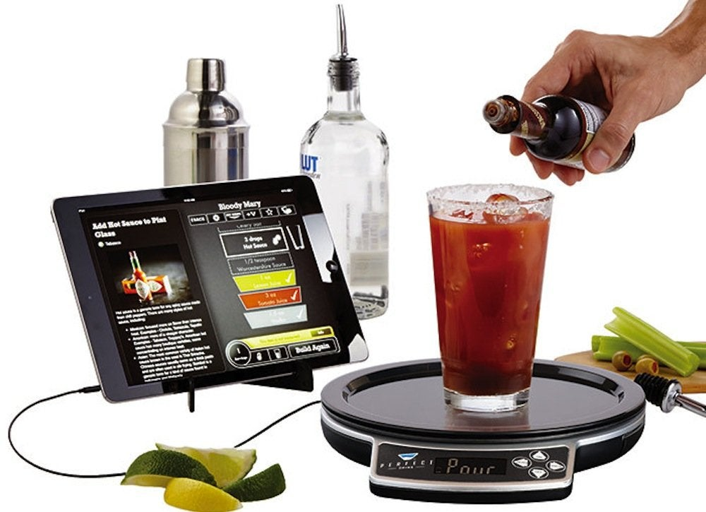 Bartending app high tech kitchen appliances 7 for Perfect drink pro scale