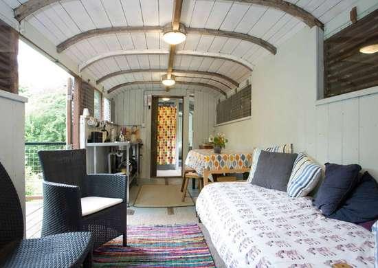Railroad Car Homes