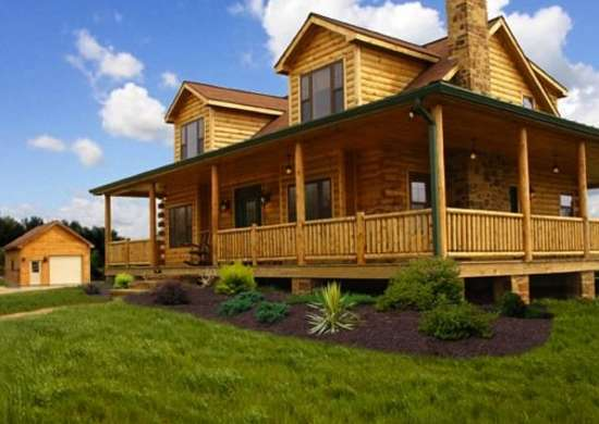 Log cabin kits 8 you can buy and build bob vila Log cabin homes cost
