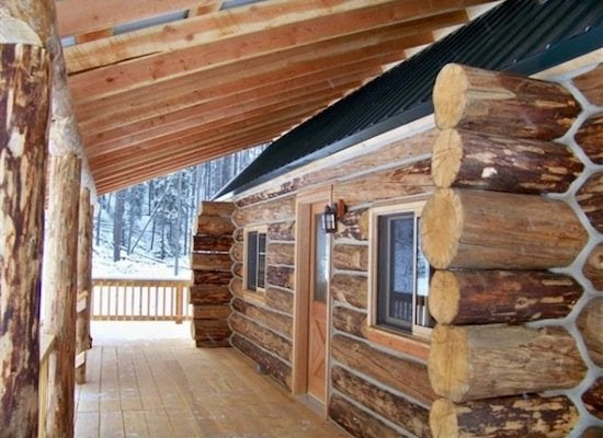Log cabin kits 8 you can buy and build bob vila for Rustic home plans with cost to build