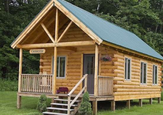 Small log cabin kits log cabin kits 8 you can buy and Log garage kits with loft