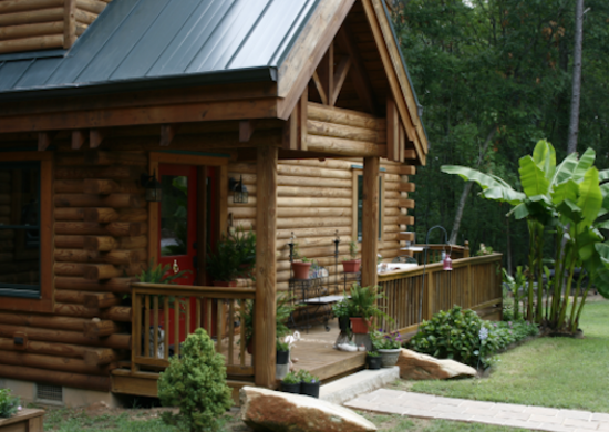 Custom log homes log cabin kits 8 you can buy and for Custom home floor plans with cost to build