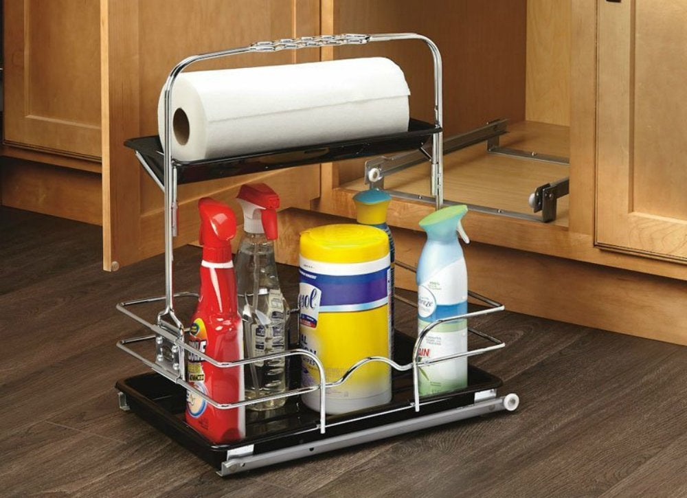 Under sink storage ideas to buy or diy bob vila Diy under counter storage