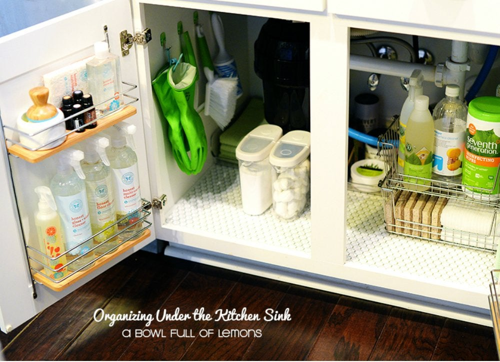 delightful Kitchen Under Sink Organizer #3: 0ae53a2d9fd9be057cba4f746a493146