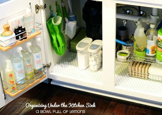 Diy organizer under sink storage ideas to buy or diy for Kitchen ideas under 5000