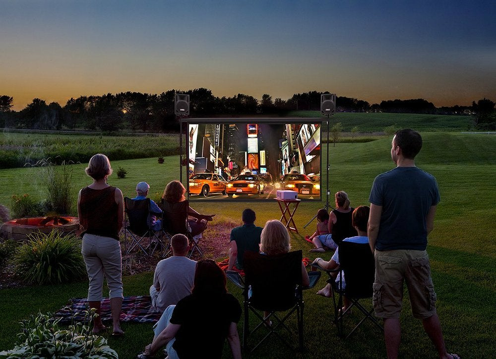 Outdoor Movie Night - Outdoor Living Spaces - 7 Ideas To ...