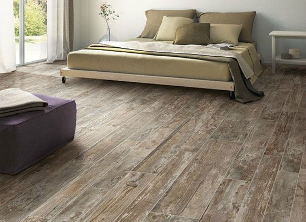 Wood Look Ceramic Tile Flooring Ideas Imitate Any