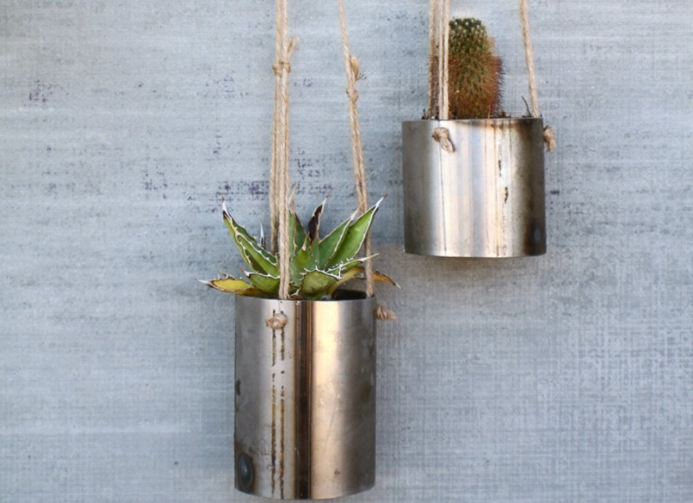Steel Planters Planter Ideas 7 Hanging Options To Buy