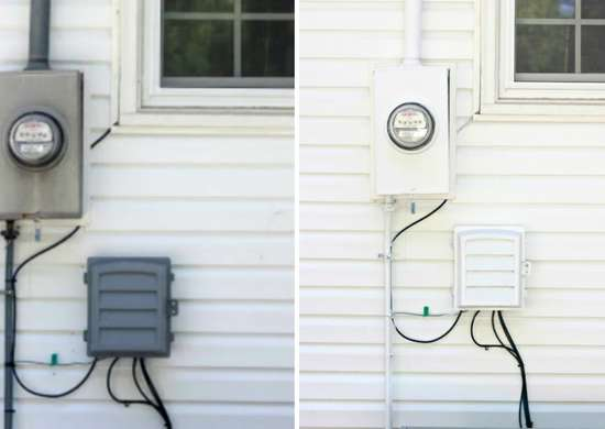 How to Hide Electrical Box