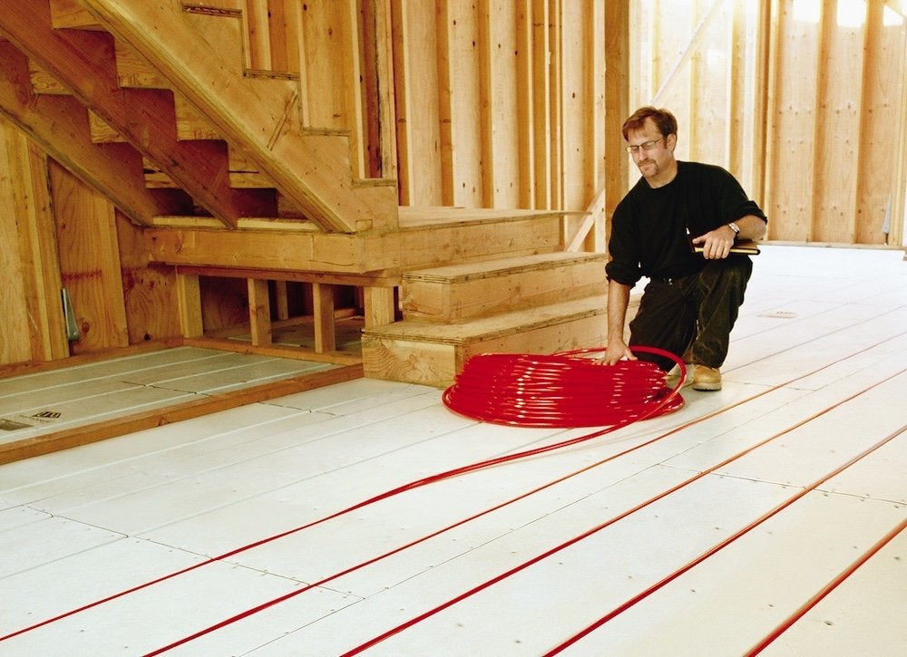 Radiant heat energy efficiency