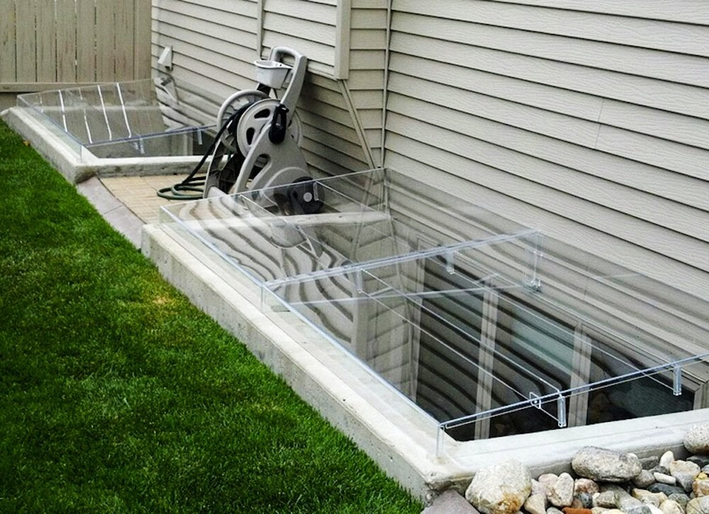 Basement Window Well Covers Home Improvement Ideas