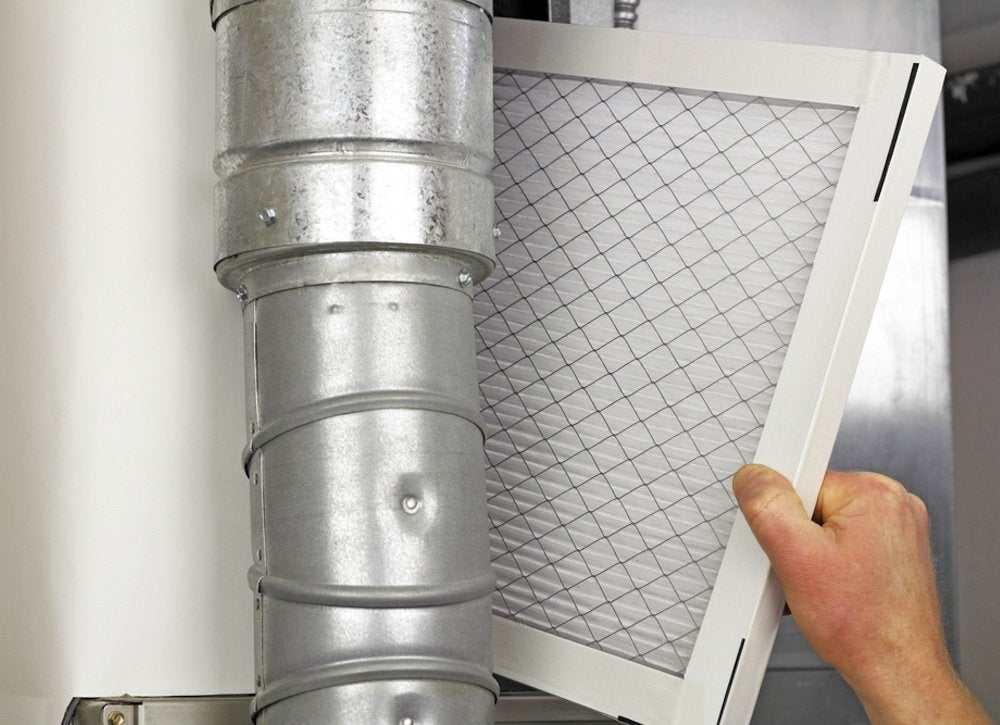 Allergies   replace furnace filter